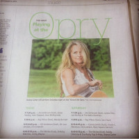 Deana Opry Newspaper the Tennessean