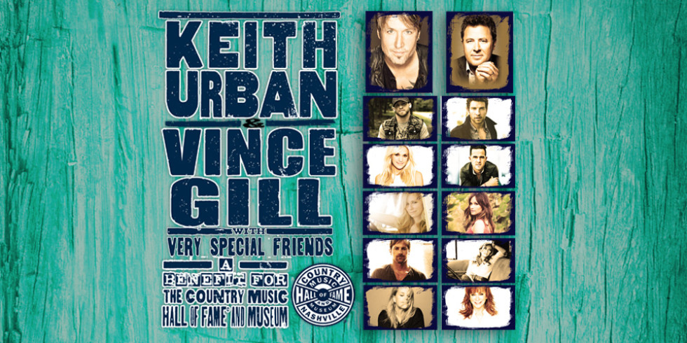 We're ALL For the Hall- keith urban and vince gill benefit concert