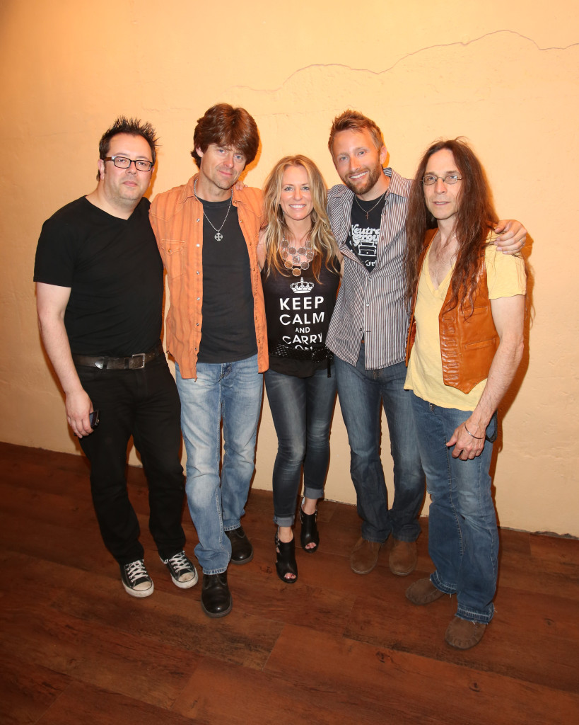 The Deana Carter Band (photo Curtis Hilburn)
