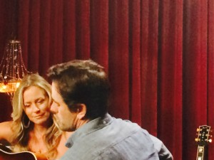 Deana and Charles Esten  'On The Record' shoot for ABC's Nashville
